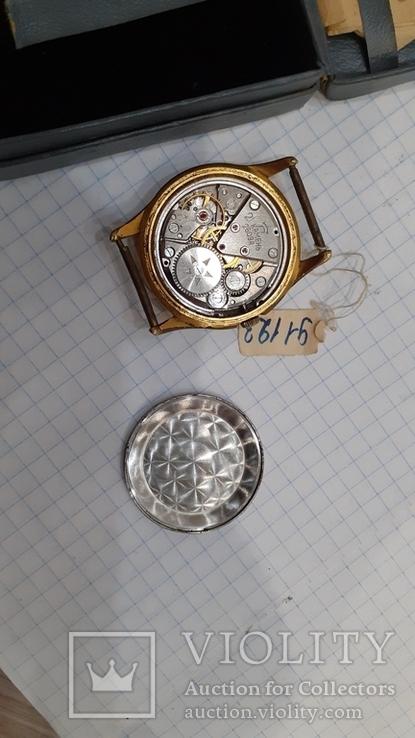 Часы ракета позолота  ау 20 с паспортом и чеком, фото №4