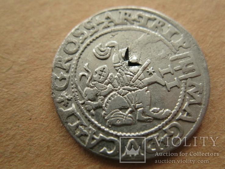 Трояк ВКЛ Сигизмунд Август  1562, фото №5