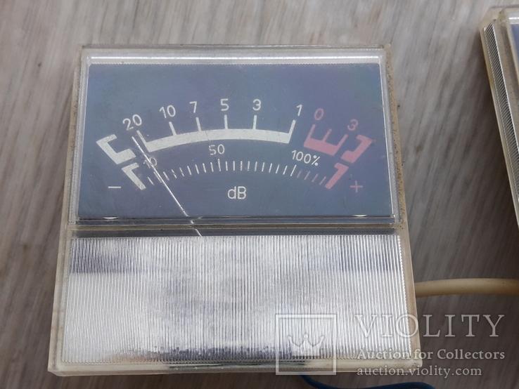 Индикаторы М68502 магнитофона СОЮЗ - 110 ( СОЮЗ-111 ) черные, пара, фото №3