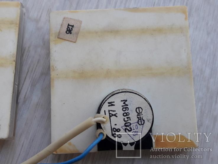 Индикаторы М68502 магнитофона СОЮЗ - 110 ( СОЮЗ-111 ) черные, пара, фото №7
