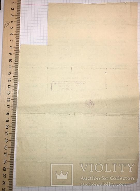 Картка споживача 50 крб., вересень 1991 / Кіровоградський педінститут, фото №3
