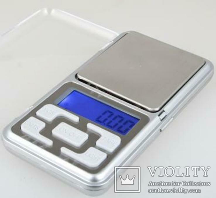 Карманные электронные весы до 500 гр (шаг 0,1гр), фото №4