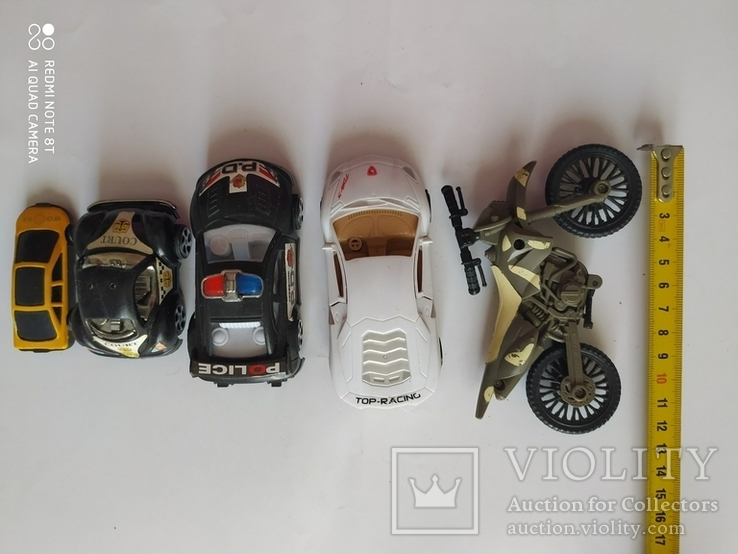 Машинки 5 шт, фото №2