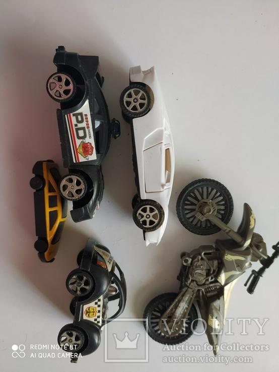 Машинки 5 шт, фото №6
