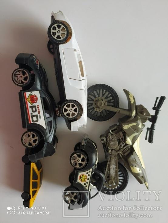 Машинки 5 шт, фото №7
