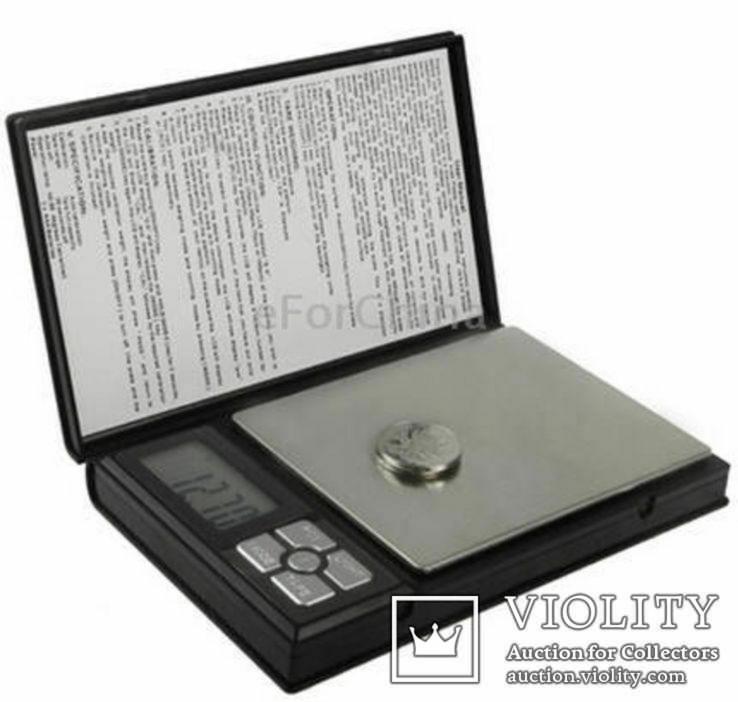 Ювелирные весы Notebook Series Digital Scale 0.1-2kg, фото №2