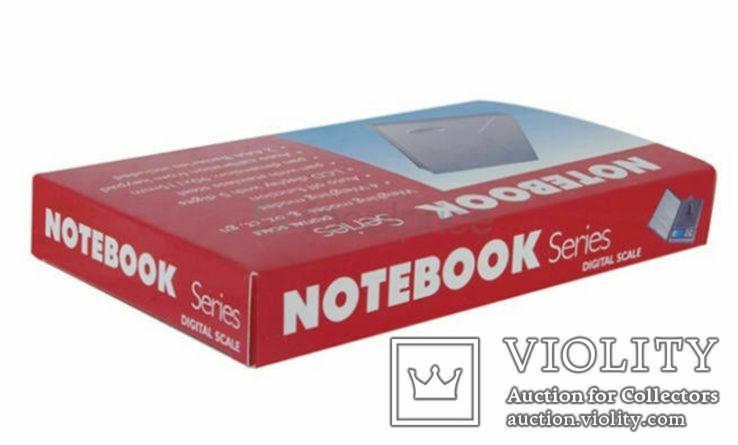 Ювелирные весы Notebook Series Digital Scale 0.1-2kg, фото №4