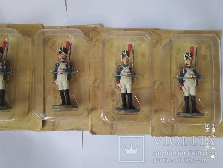 Лот из 5 солдатов Наполеоновские войны №2., фото №4