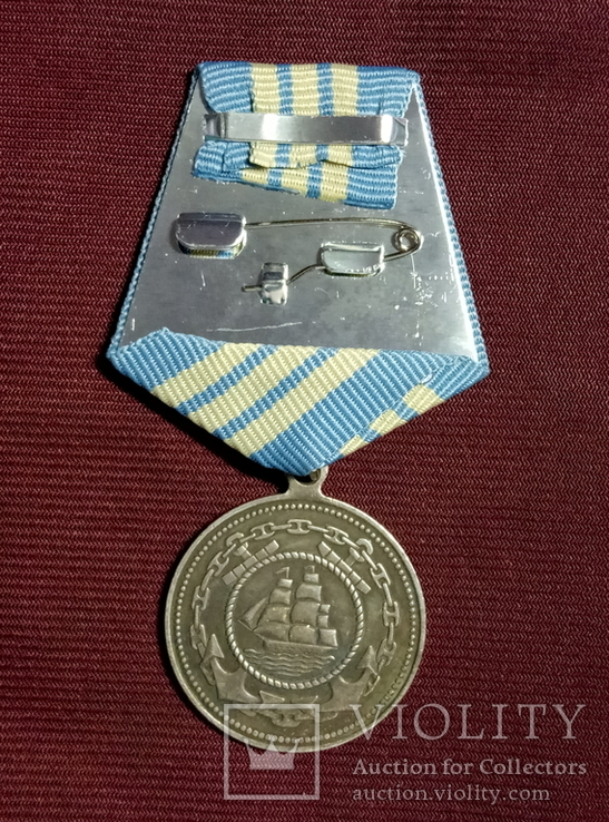 Копия Медаль адмирал Нахимов 2 А-12, фото №3