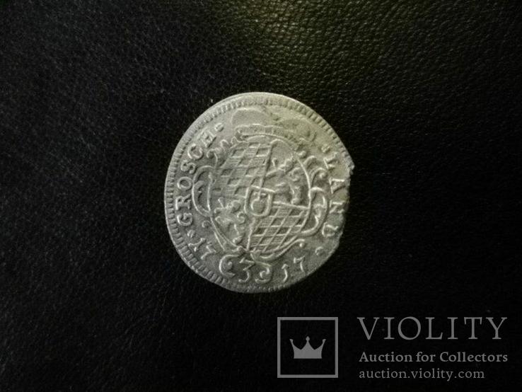 3 грошен 1717г., фото №4