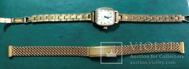 Часы СЕКОНДА с браслетом ,и браслет, фото №2