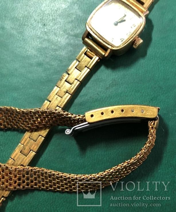 Часы СЕКОНДА с браслетом ,и браслет, фото №3