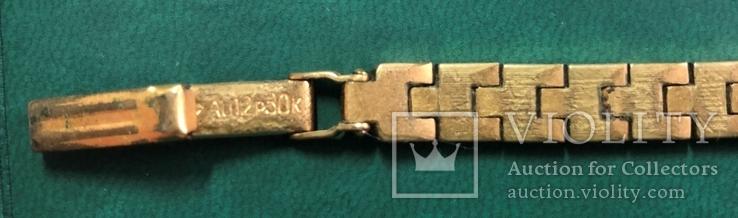 Часы СЕКОНДА с браслетом ,и браслет, фото №6