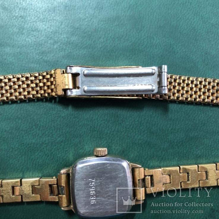 Часы СЕКОНДА с браслетом ,и браслет, фото №8