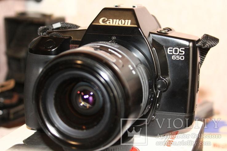Фотоаппарат CANON 650( Sigma 3.5-4.5/28-70мм ), фото №2
