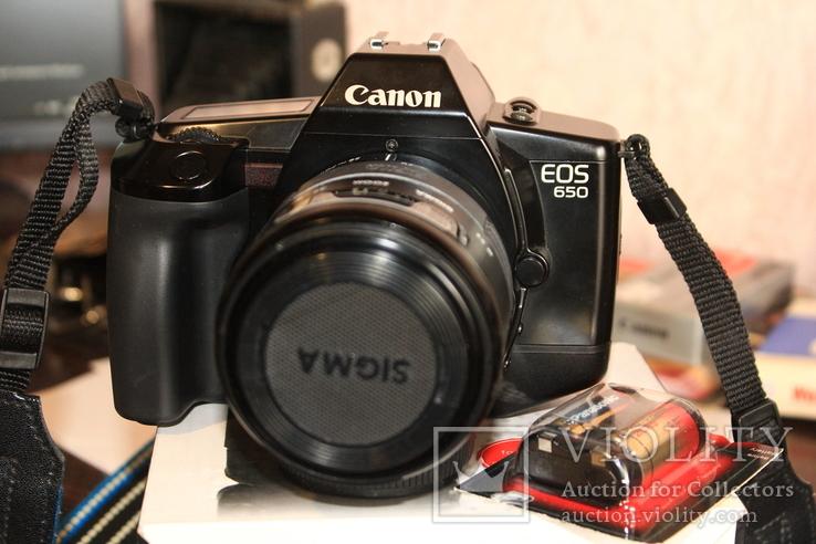 Фотоаппарат CANON 650( Sigma 3.5-4.5/28-70мм ), фото №11