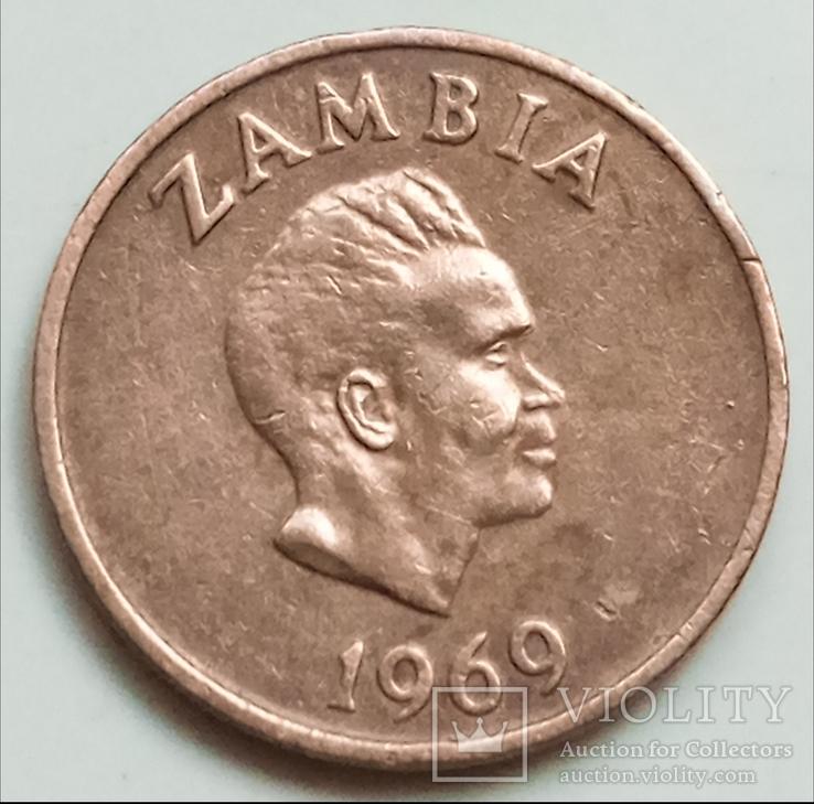 1 нгве 1969 г. Замбия, фото №3