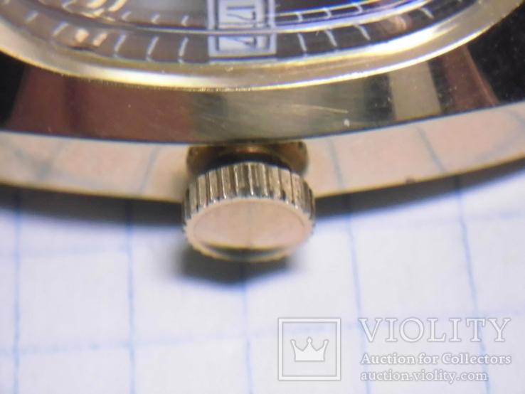 Часы Полёт Аu10  с документами в родной коробке, фото №9