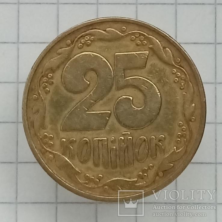 """25 копеек 1992г """"бублики"""", фото №2"""