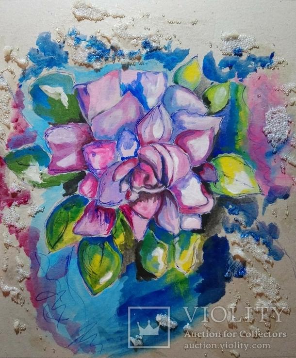 Акриловый цветок Сочность, фото №2