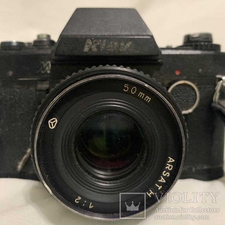 Фотоаппарат Киев с объективом ARSAT H