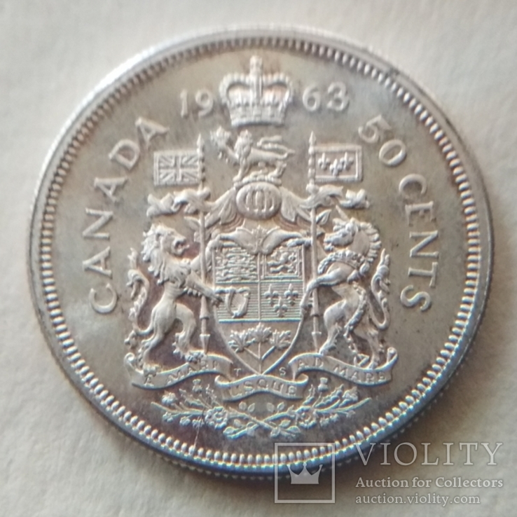 50 центов канада 1963 года
