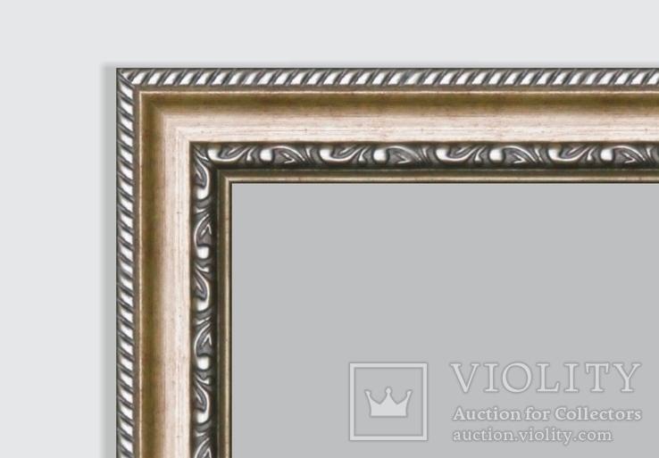 Картина, Була зима, 15х20 см. Живопис на полотні, фото №6