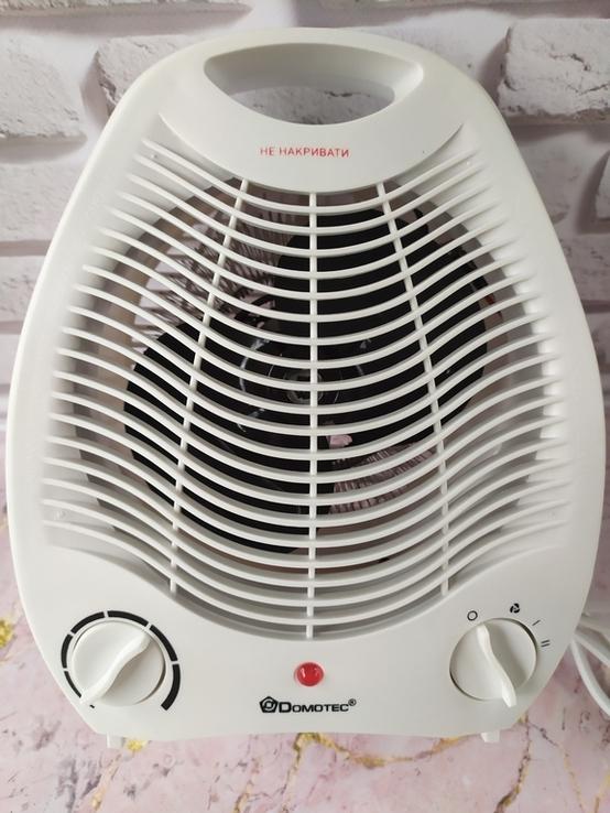 Тепловентилятор, электрообогреватель, дуйка Domotec MS 5901 мощностью 2000 Вт, фото №7