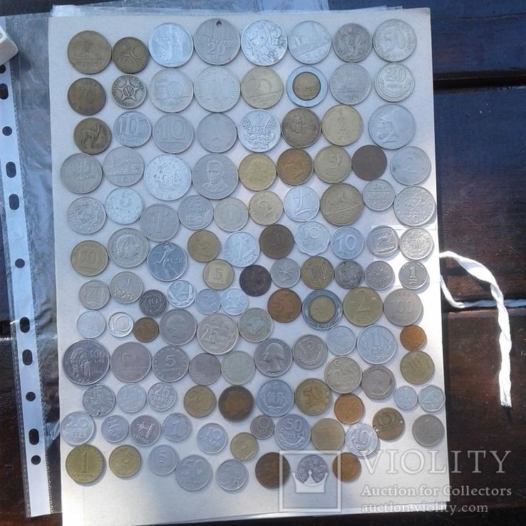 Монеты мира 217 шт, фото №2