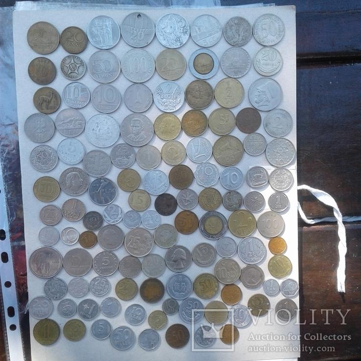 Монеты мира 217 шт, фото №3