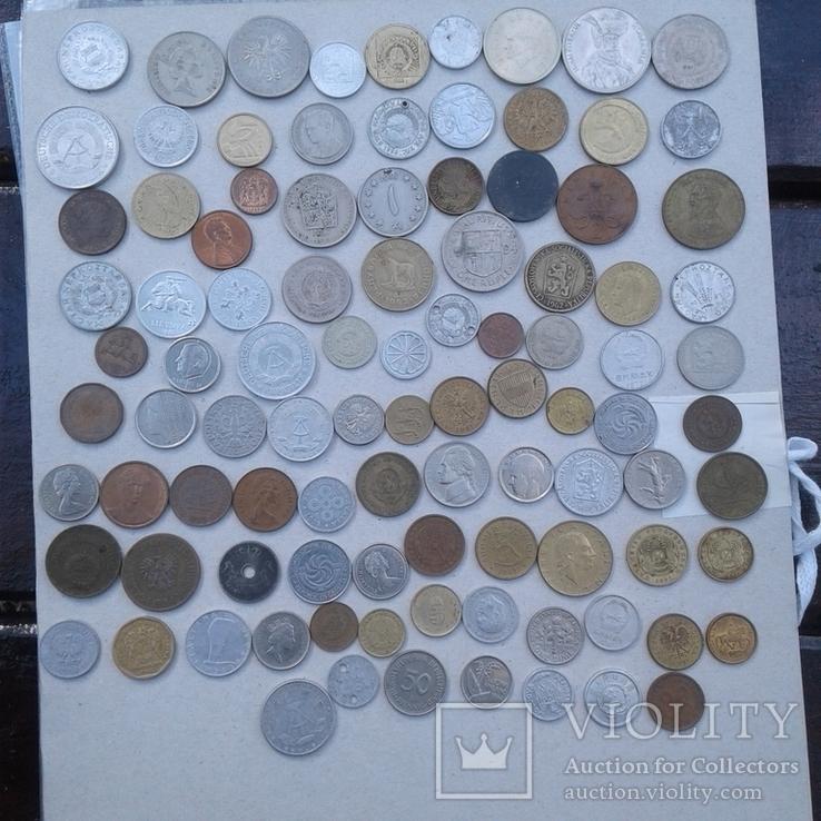 Монеты мира 217 шт, фото №8