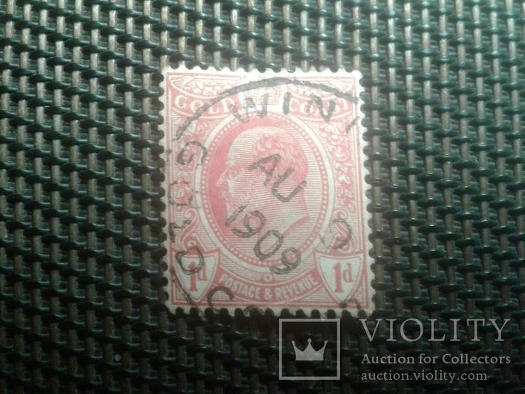 Марки1908года, колония Британии