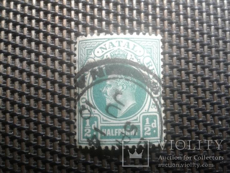 Марки1902года, колония Британии