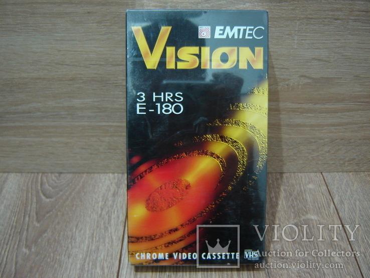 Видеокассета EMTEC 180. Запечатанная., фото №2