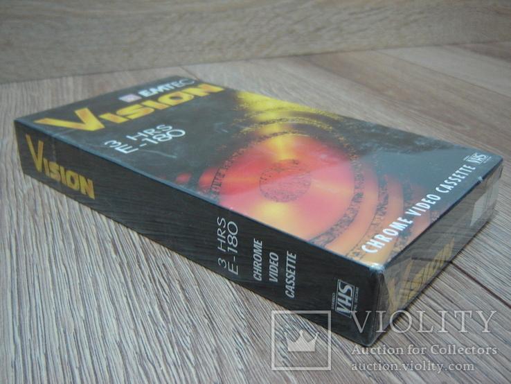 Видеокассета EMTEC 180. Запечатанная., фото №10