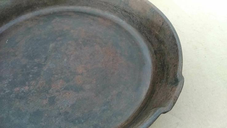 Чугунная сковорода из СССР - 24 см, фото №5
