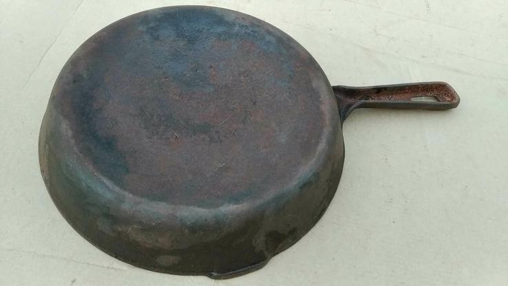 Чугунная сковорода из СССР - 24 см, фото №9
