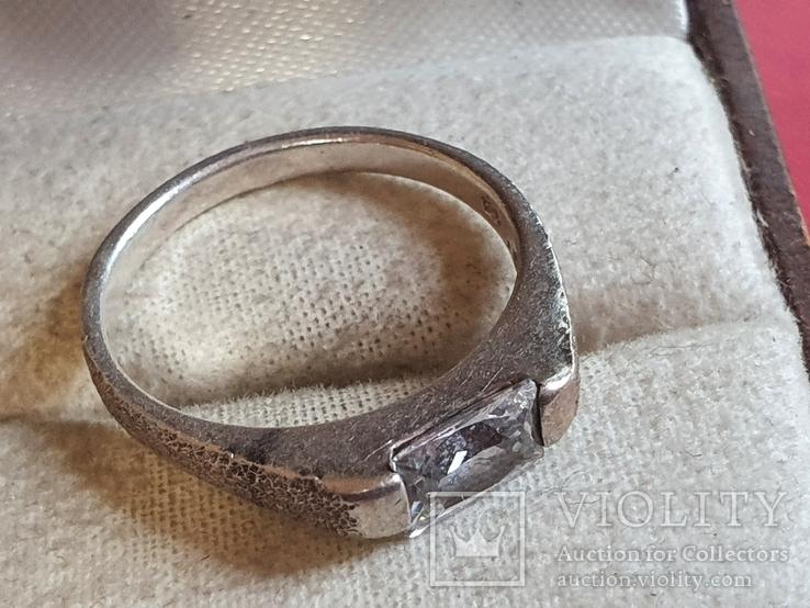 Колечко серебро 925 проба. Размер 18.5, фото №4