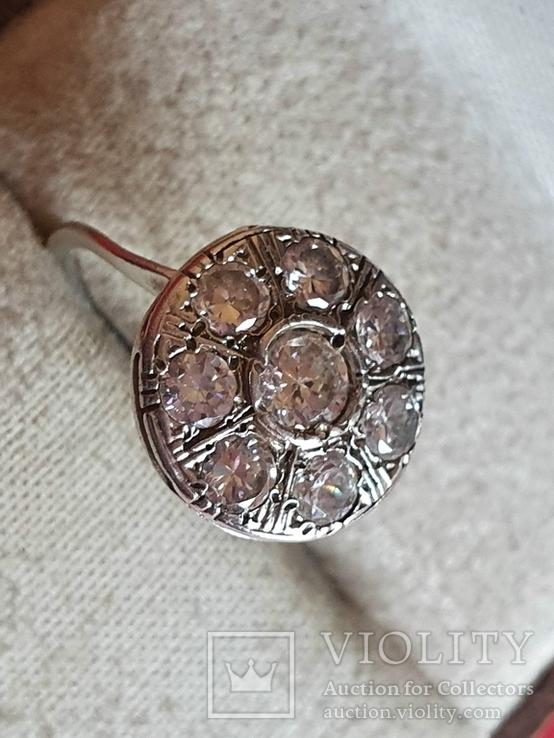 Колечко серебро 925 проба. Размер 16, фото №2