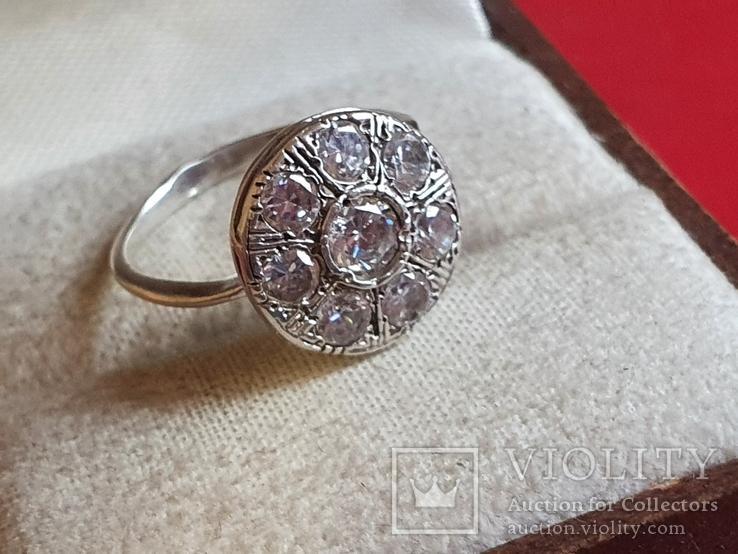 Колечко серебро 925 проба. Размер 16, фото №5