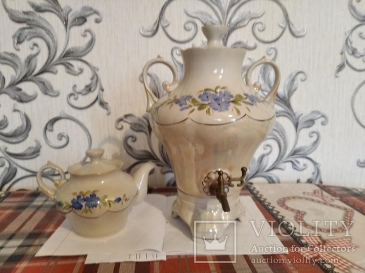 Самовар с чайником, фото №2