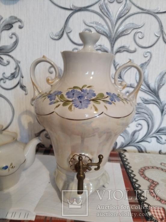Самовар с чайником, фото №9