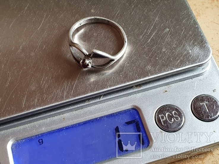 Советское колечко серебро 925 проба. Размер 17.5, фото №7