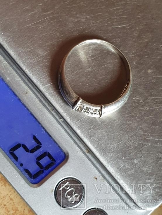 Колечко серебро 925 проба. Размер 20.5, фото №7