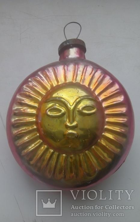 Ялинкова іграшка Сонце, фото №3