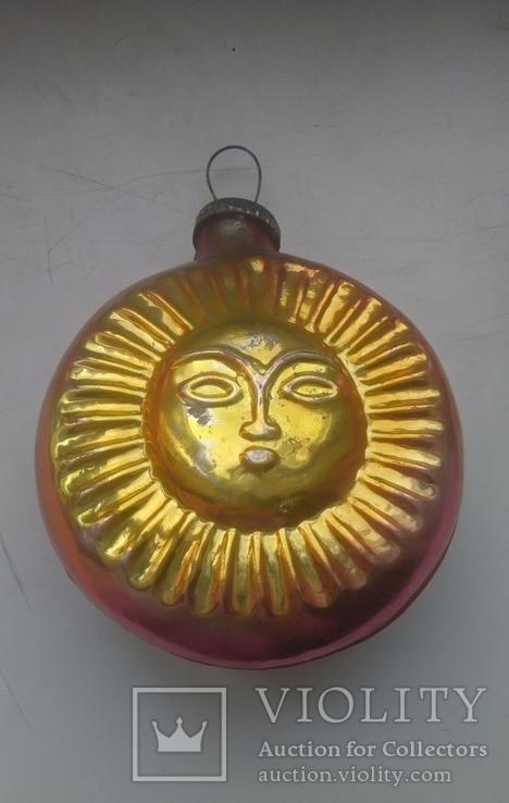 Ялинкова іграшка Сонце, фото №2