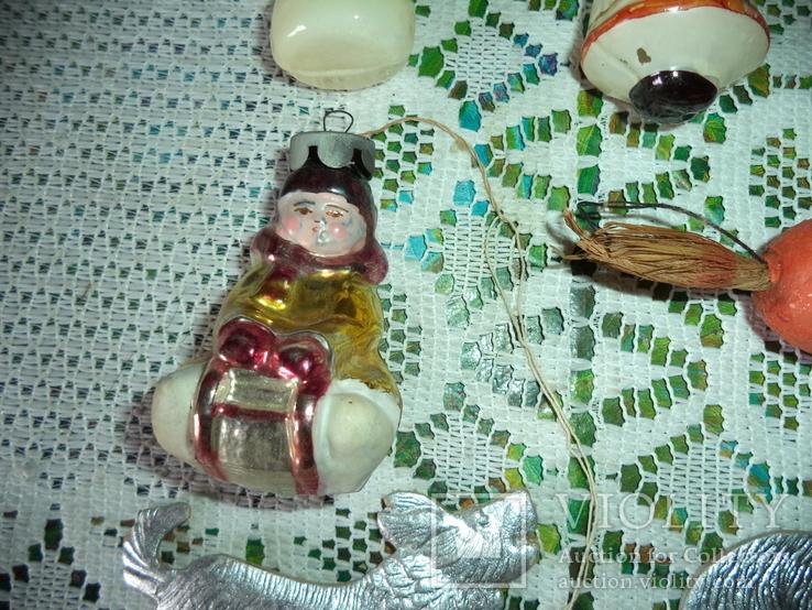 Ёлочные игрушки  СССР 7 штук, фото №4