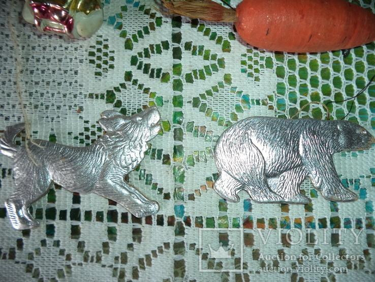 Ёлочные игрушки  СССР 7 штук, фото №6