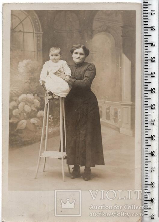 Старинная открытка. До 1945 годa. Дети. и.(3), фото №2