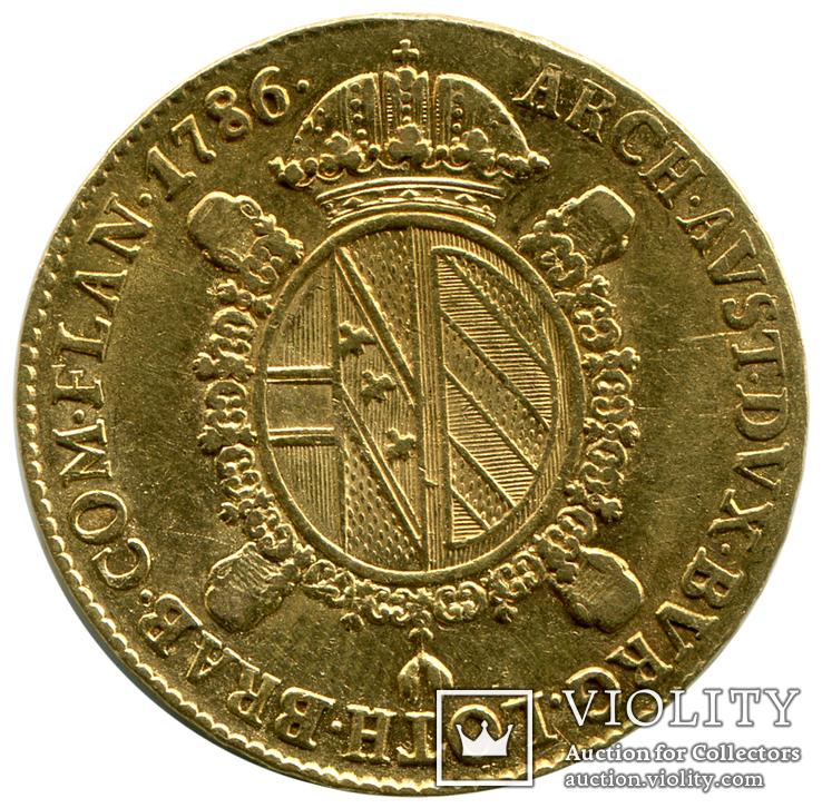 Соврано 1786г. Австрия, фото №3